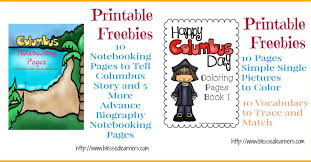 free christopher columbus units and resources blessed learners