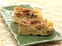 dessert de cuisine lokshen kugel les desserts de benoit cuisine tv