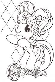 pony coloring pictures 100 best little pony images on pinterest ponies little pony and