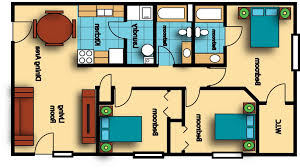 Home Design Sq Ft Bedroom Floor Plans Plan With Ideas 800 House 3