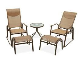 Fortunoffs Backyard - hideaway sling 5 pc seating group fortunoff backyard store