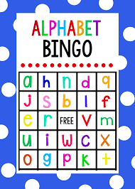 Halloween Bingo Game Printable by Lowercase Alphabet Bingo Game Alphabet Bingo Bingo Games And