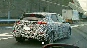 nissan leaf japan 2018 india bound 2018 nissan leaf shows its tail lamps in spyshots