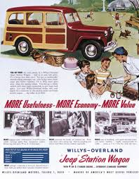 vintage jeep ad willys overland motor company history