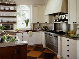 off white country kitchen with teresa perry high country home