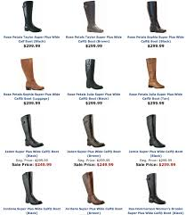 s boots plus size calf 5 stores that wide calf boots affatshionista