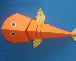 kids moving paper fish craft 1 funnycrafts