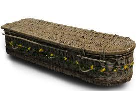 wicker casket funeral planning sussex willow coffins