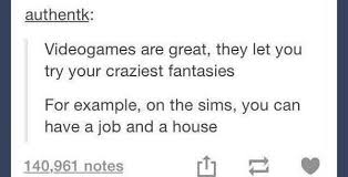 The Sims Memes - craziest fantasies the sims know your meme