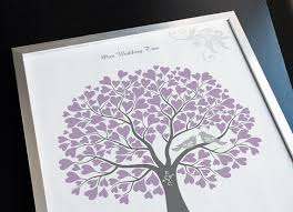 wedding tree guest book wedding tree with birds guest book alternative poster
