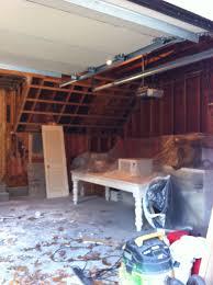la petite peach u0027s white and mint new england garage office renovation