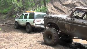 Ford Trucks Mudding Lifted - ford 4x4 truck stuck in mud part 2 by bsf recovery team youtube