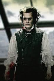 Johnny Depp Costumes Halloween Sweeney Todd Board