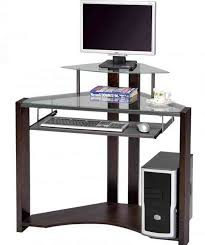 corner computer desk with keyboard tray best corner computer desk ideas for your home