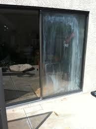 Patio Door Glass Repair Glass Repair San Diego Fogged Sliding Door Before After Photo