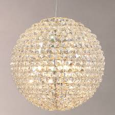 john lewis exquisite crystal globe ceiling light times 195 00