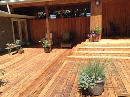 floor wonderful wooden deck refinishing with natural color