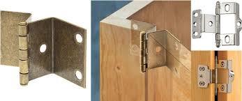 Flush Cabinet Door Hinges by Cabinet Hinges Cranked Thesecretconsul Com