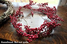 how to make a wreath diy berry wreath on the cheap the creek line house