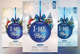 stockpsd net u2013 free psd flyers brochures and more blue xmas