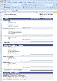 Debit Credit Balance Sheet Excel by Balance Sheet Format In Excel Education