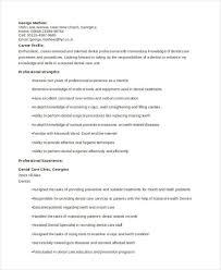 Dentist Resume Sample by General Resumes 10 Free Word Pdf Format Download Free