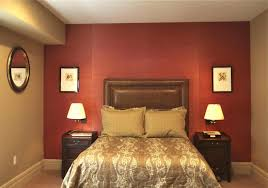 bedroom paint ideas accent wall orange caruba info