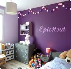 chambre violet chambre violet et best ravissant deco chambre fille violet