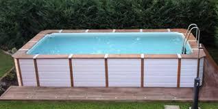 rivestimento in legno per piscine fuori terra piscine rivestite in legno look personalizzabili senza opere edili