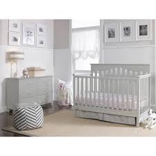 Pali Marina Crib Modern Grey Crib And Dresser Set Gray Primo Collection Convertible