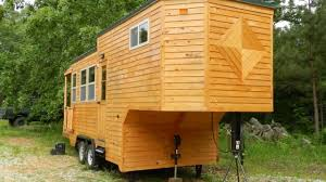 fifth wheel tiny house on wheels by mississippi tiny house youtube