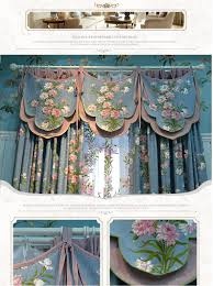 custom made pastoral style for living room tulle window