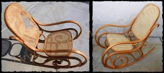 Bamboo Rocking Chair Vintage Chairs For Sale