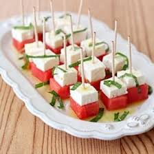 light appetizers for parties a simple and light appetizer watermelon feta and mint salad bites