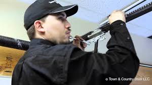 Overhead Door Model 556 Manual by How To Adjust The Chain Tension Of Garage Door Opener Town