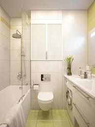 breathtaking very small space bathroom design with wall mounted