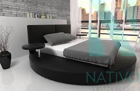 Schlafzimmer Komplett Lederbett Günstige Betten Schweiz Con Designer Bett Circle Bei Nativo Möbel