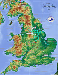 Map Of England And Scotland by The Map Of Hogwarts Location