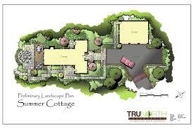 landscape design conceptual plan terrain integration pinterest