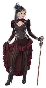 Gothic Halloween Costumes Women Victorian Steampunk Clothing U0026 Costumes Ladies