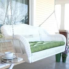 boxhills rustic daybed porch swing lifestyle white porch swing