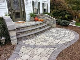 Ideas Design For Diy Paver Patio Diy Paver Patio Steps Home Design Ideas Quality