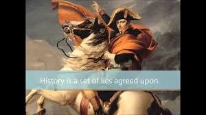 napoleon history quote in french napoleon bonaparte quotes youtube