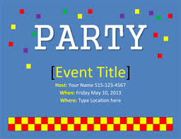 party invitation 26 free printable party invitation templates in word