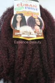 black cuban twist hair shake n go equal cuban twist braid 16 long double strand style
