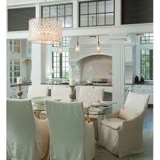 Dining Room Drum Chandelier Oly Studio Serena Drum Chandelier Stainless Candelabra Inc