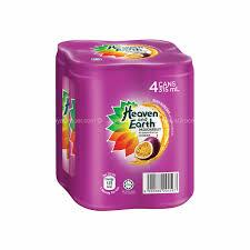 Teh Fruity jaya grocer heaven and earth passionfruit tea fresh