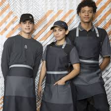 mcdonalds new uniform employee twitter reactions