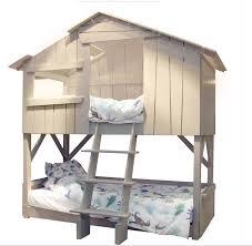 chambre garçon lit superposé lit cabane superpose mathy by bols secret de chambre