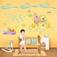 Spongebob Bathroom Decor by Big Giant Jumbo Fairground Kids Child Wall Sticker Removable